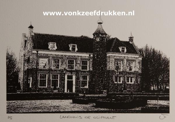 Monocolor landhuis de oliphant - Chique landhuis ...